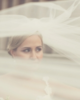 Billowing Bridal Veil