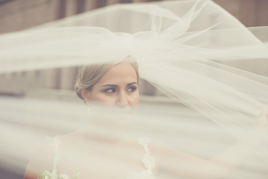 Billowing Bridal Veil