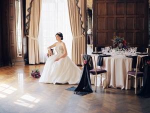 Black Ad White Ballroom Wedding Ideas
