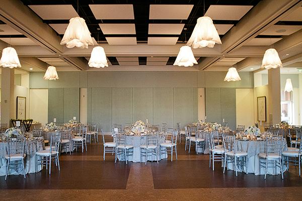 Blue And Silver Wedding Reception Decor Elizabeth Anne Designs