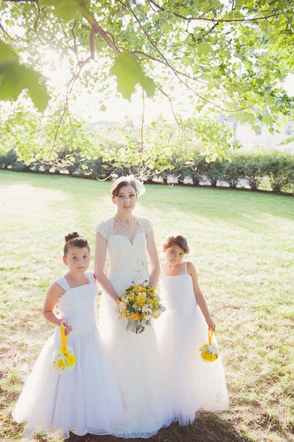 888f83a73d1 Bride and Flower Girls - Elizabeth Anne Designs  The Wedding Blog