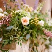 Cascading Wedding Centerpiece