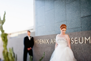Chic and Glam Art Museum Wedding by Jerry Yoon