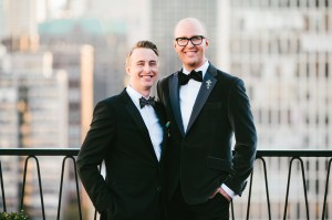 Classic Black and White Groom Tuxes 1