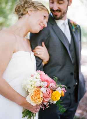 Colorful Outdoor Wedding by Erin Hearts Court