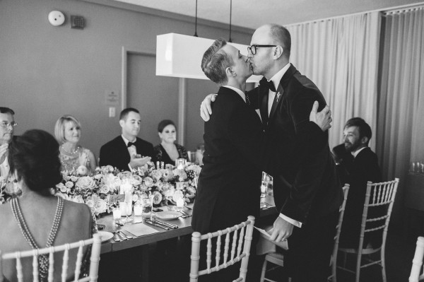 Intimate Wedding Dinner Reception