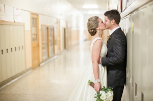Couple in Minnesota School From Laura Ivanova Photography