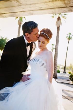 Crystal Embellished Bridal Gown