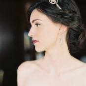 Delicate Rhinestone Bridal Headband