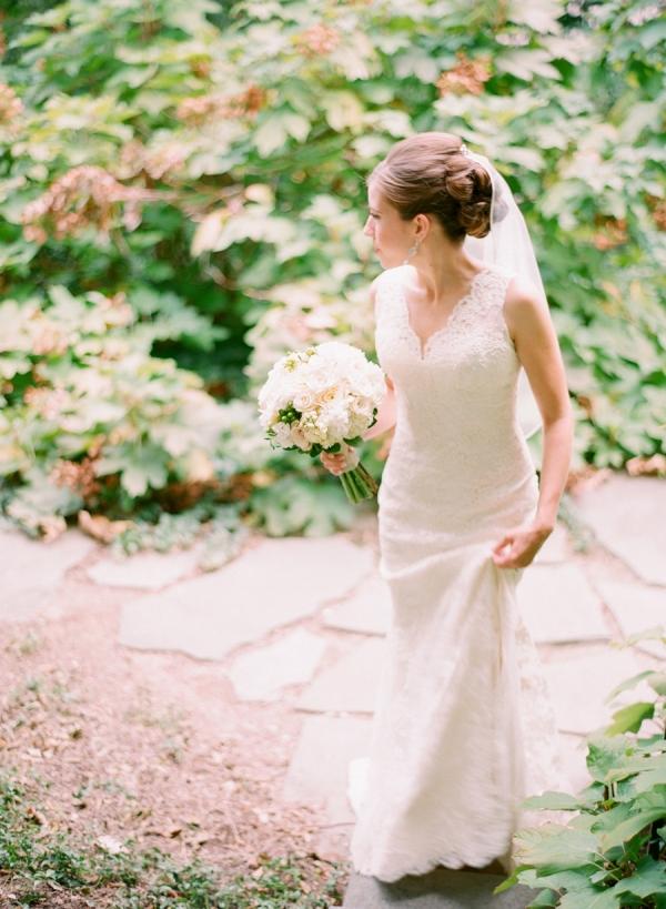 Elegant Bridal Portrait Arielle Doneson
