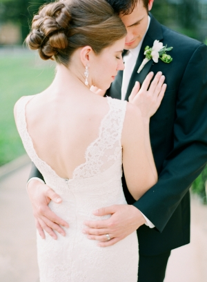 Elegant Wedding Portrait Arielle Doneson