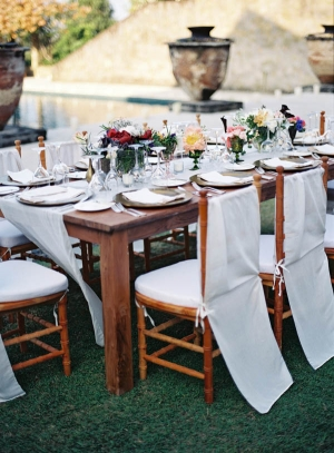 Elegant Wood Estate Table