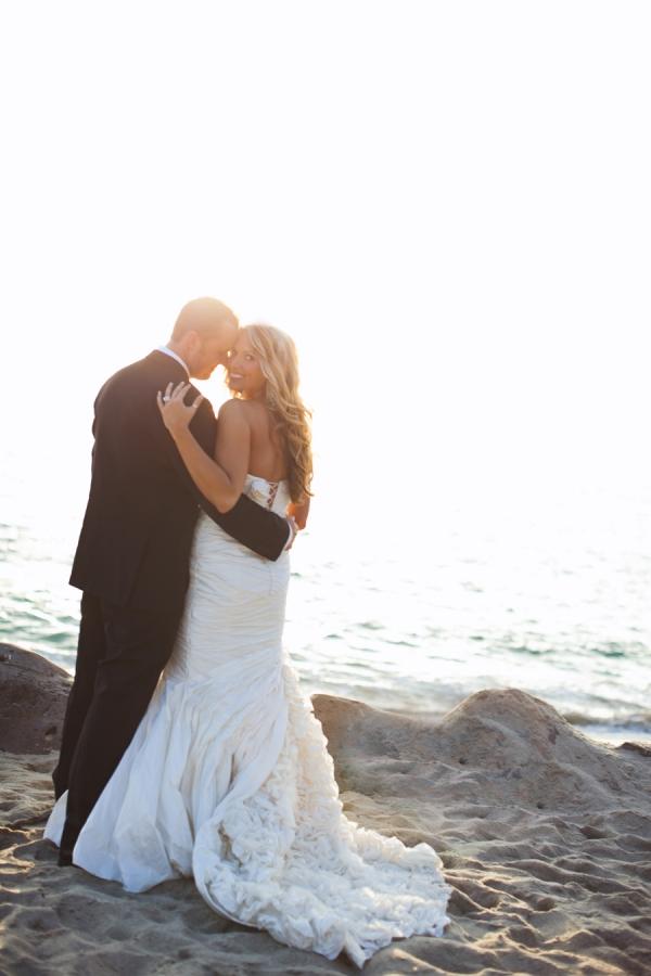 Elegant and Romantic Laguna Beach Wedding by Leigh Miller Photography