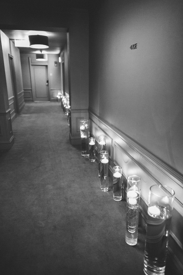 Floating Candle Ceremony Decor