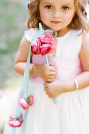 Flower Girl Ribbon Baton