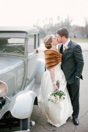 Fur Stole For Bride
