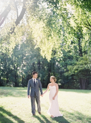 Garden Wedding Portrait Clary Photo