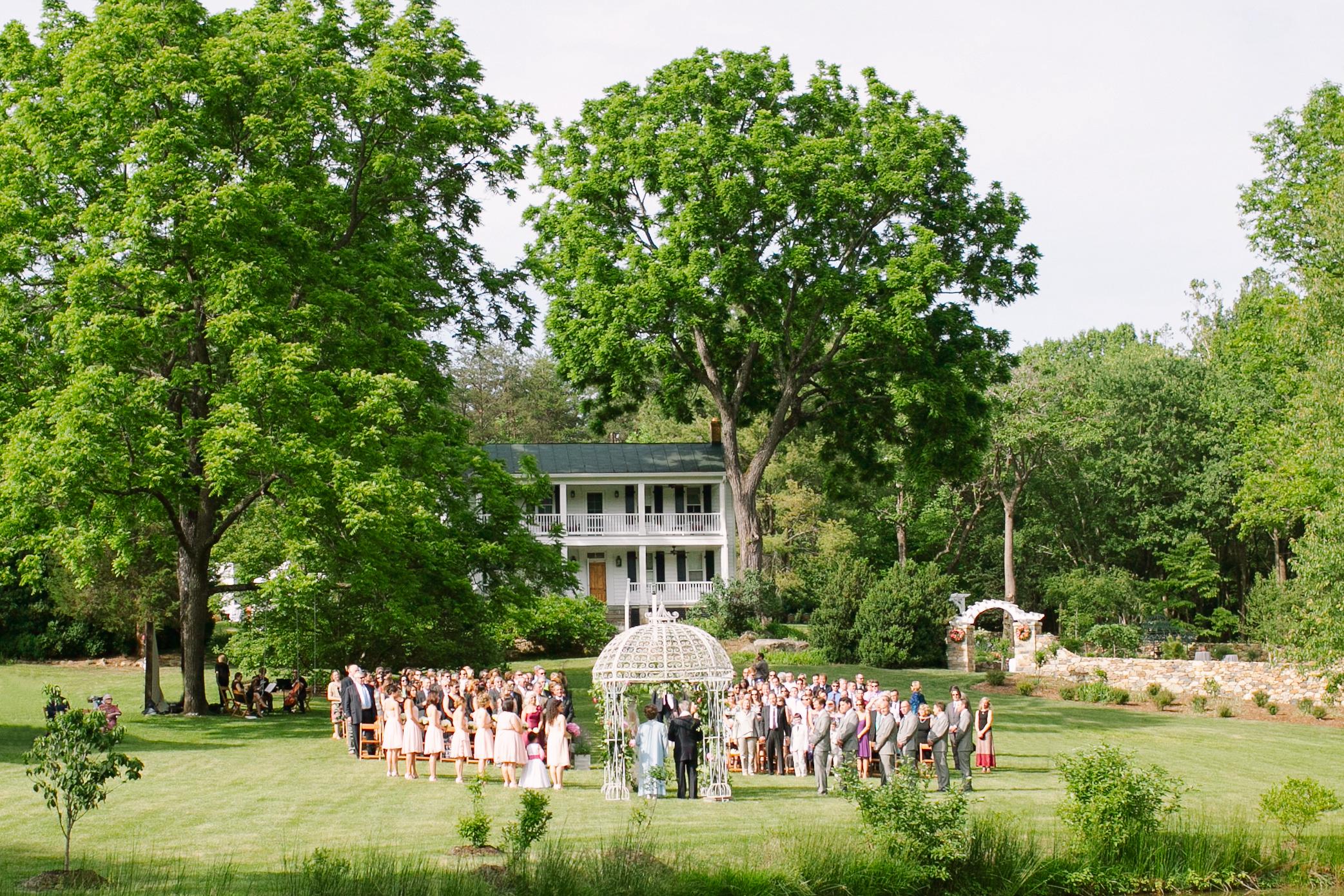 Historic Outdoor Virginia Wedding Venue Abby Jiu Photography