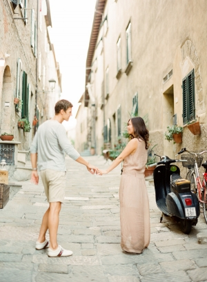 Tuscany Engagement Photos from KT Merry