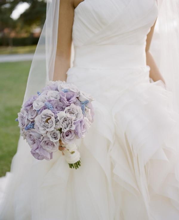 Lavender Bridal Bouqet
