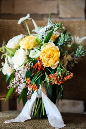 Loose Fall Bridal Bouquet
