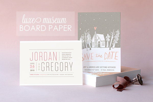 Luxe Museum Board Paper