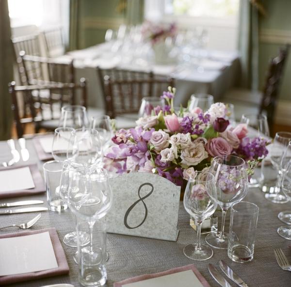 Classic Purple Rose Centerpiece
