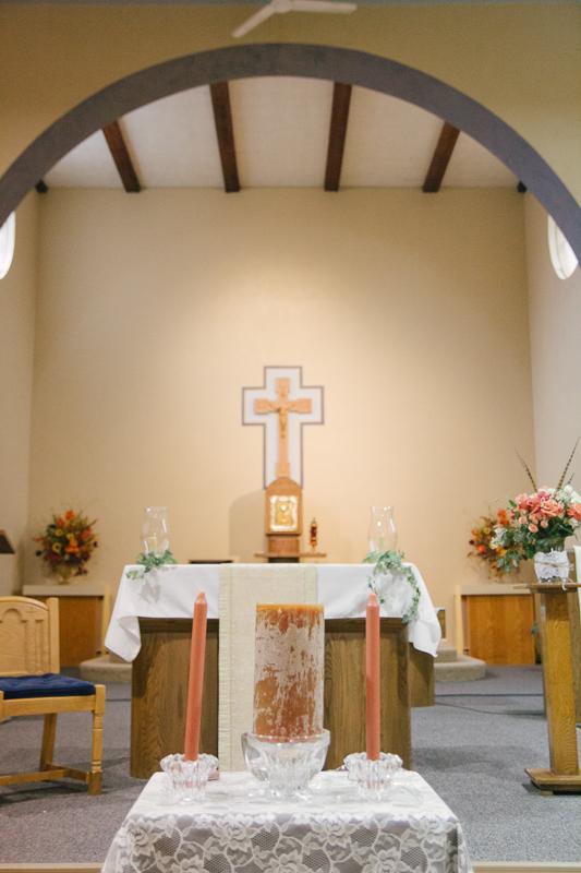 Intimate Schoolhouse Wedding