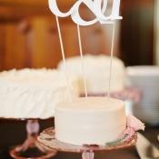 Monogram Cake Topper