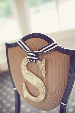 Monograms For Chairs