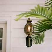 Old World Lantern Reception Decor