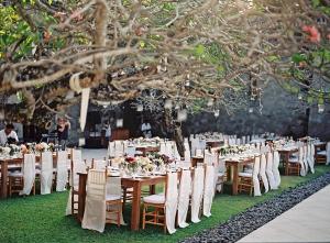 Outdoor Bali Reception