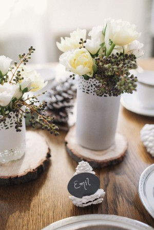 Painted Pinecone Placecard