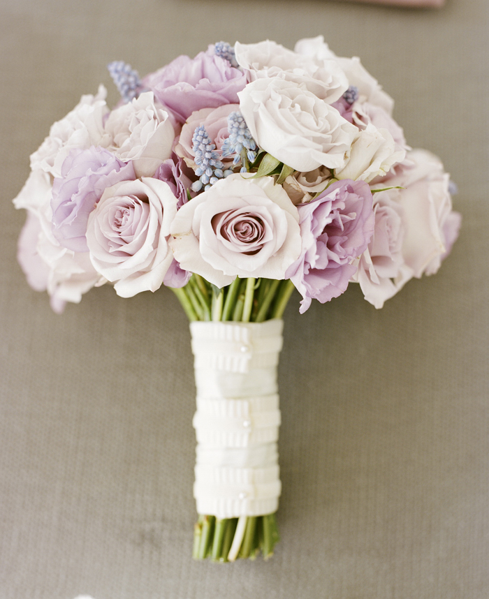 Pale Pink and Lavender Rose Bouquet - Elizabeth Anne Designs: The ...