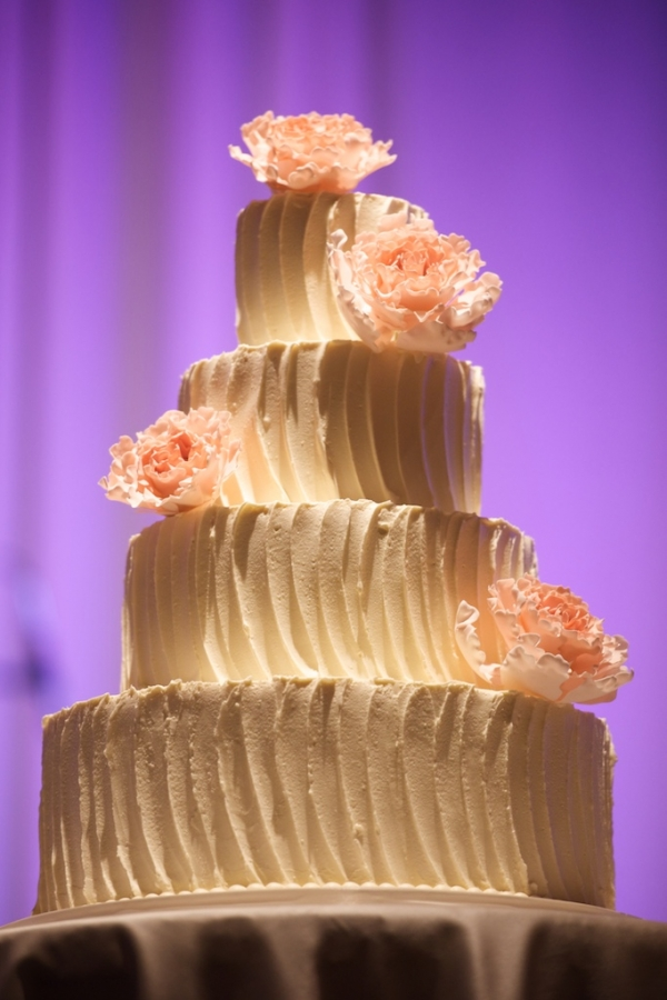 peach wedding cake design and wedding cake elizabeth designs the 18143