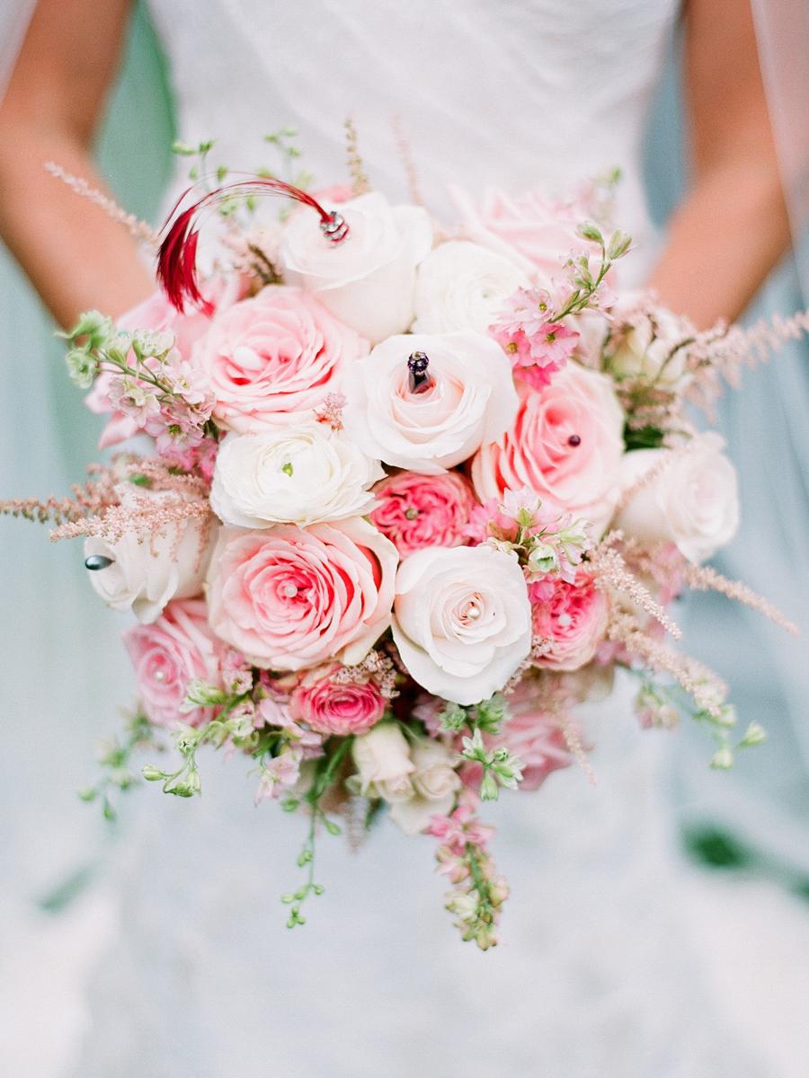 pink rose bridal bouquet elizabeth anne designs the wedding blog. Black Bedroom Furniture Sets. Home Design Ideas