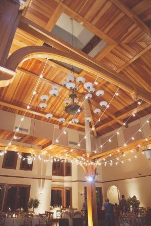 Reception String Lighting