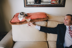 Pets In Engagement Session