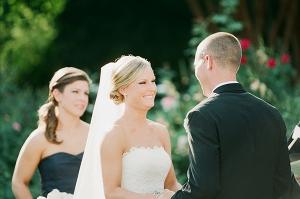Scalloped Edge Strapless Wedding Gown