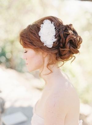 Flower Bridal Hair Clip