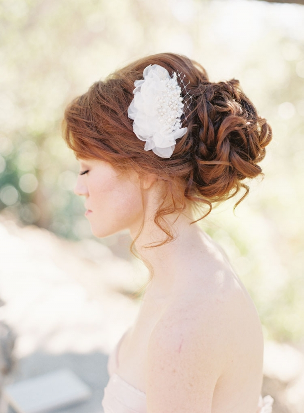 Flower Bridal Hair Clip