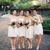 White Bridesmaids Dresses