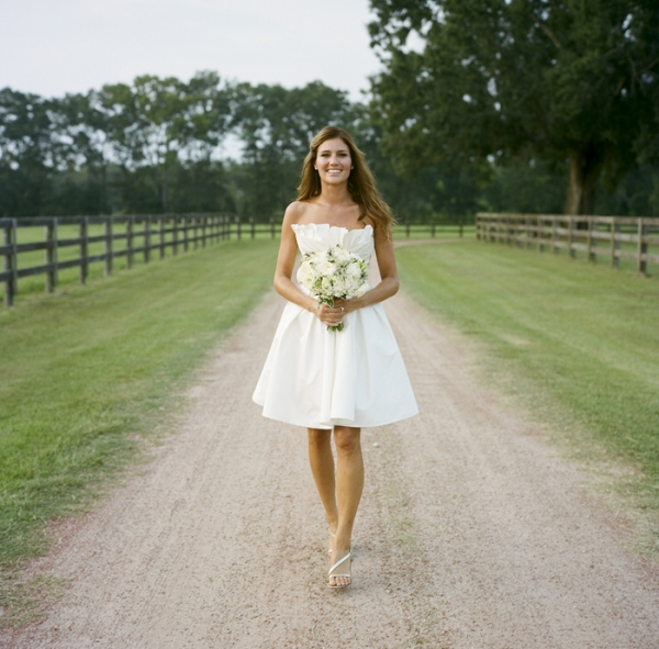 Short Wedding Gown