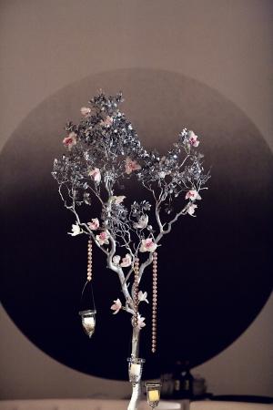 Silver Manzanita Wedding Centerpiece