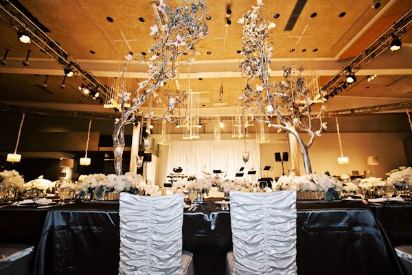 Glamorous Branch Wedding Centerpiece