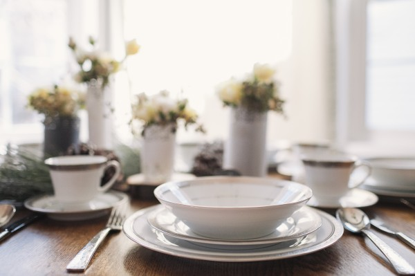 Simple Brunch Wedding Table