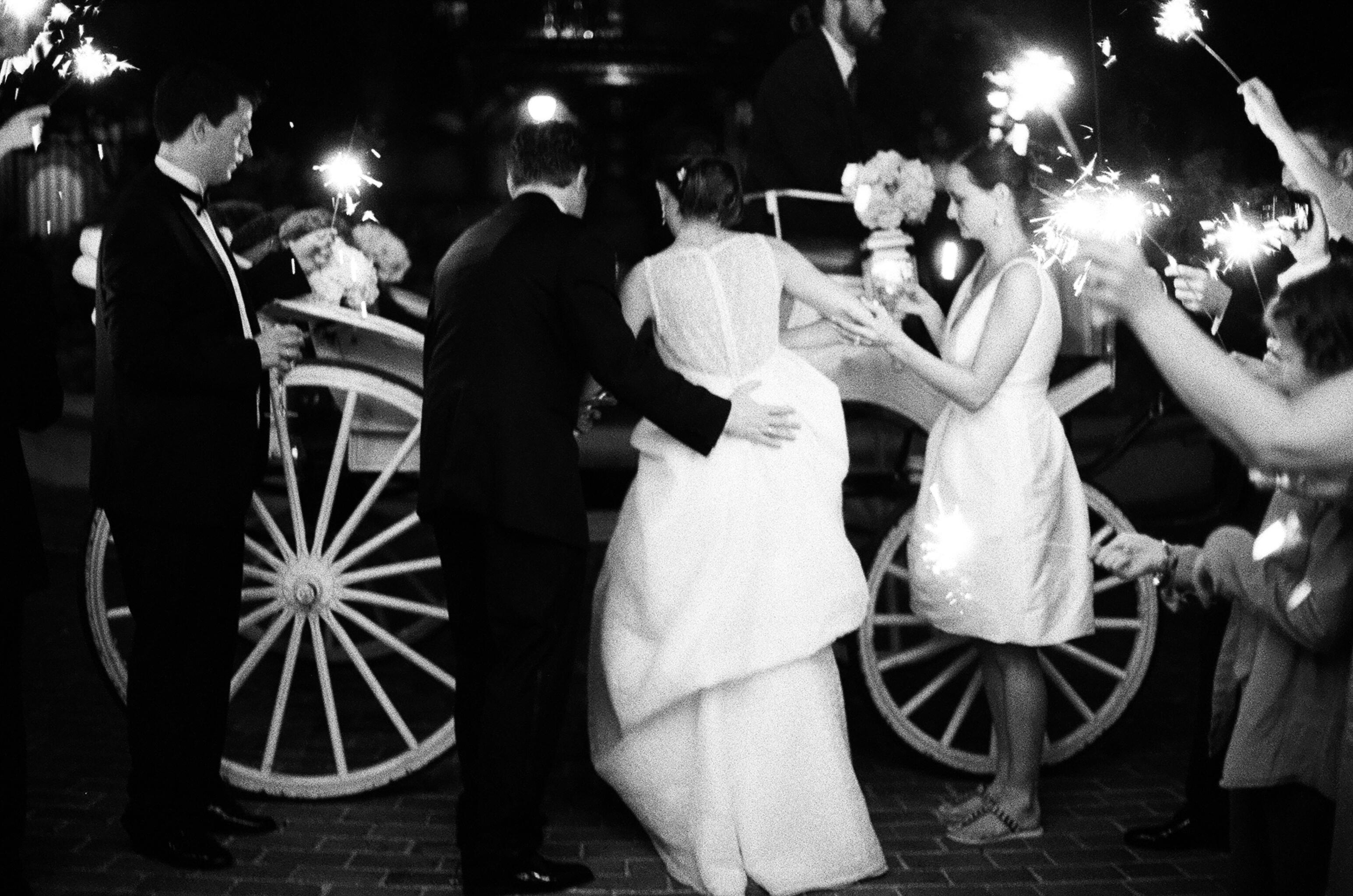 Carriage Wedding Send Off