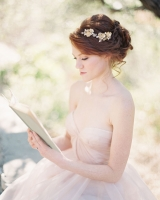 Crystal Flower Bridal Hairpiece
