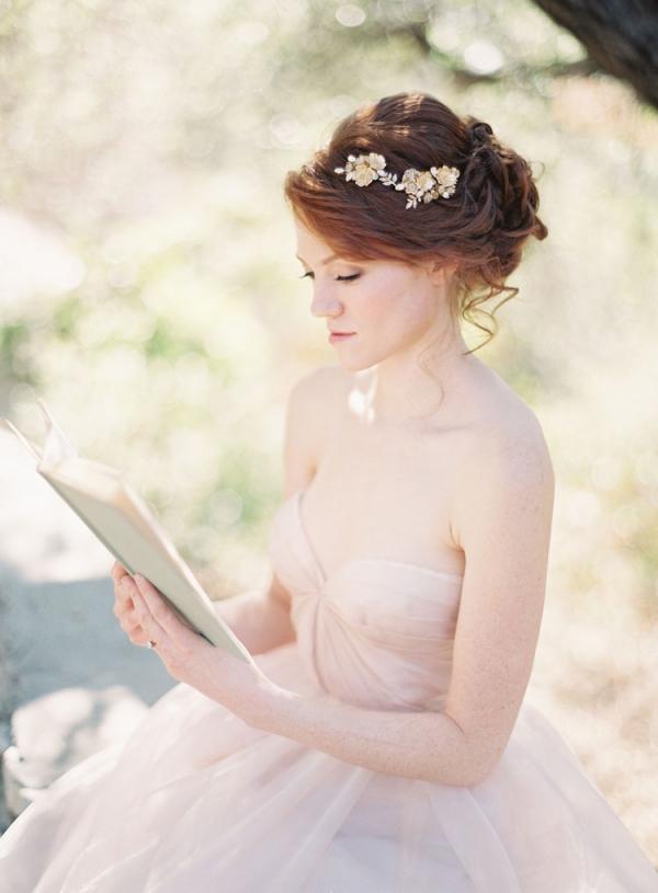 Crystal Flower Bridal Hairpiece