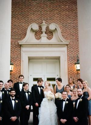 Classic Texas Church Wedding Ceremony